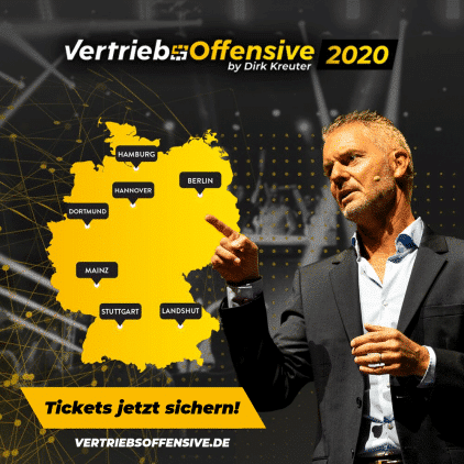 Werbung Dirk Kreuter Vertriebsoffensiv 2020